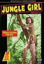 JUNGLE GIRL - Cliffhanger serial! 2 disc DVD FRANCES GIFFORD as NYOKA, TOM NEAL