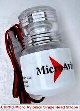 Micro-Avionics Single Head Strobe Light For Microlight Paramotor Glider Trike