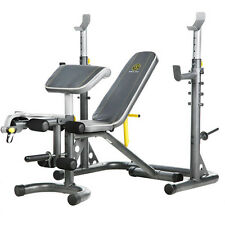 NEW Gold's Gym XRS 20 Olympic Utility Bench Weight Home Gym Total Body