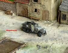 WW2 1:144 Scale Wargame Diorama US M3 Half Track Armor Vehicle Model NMT_424_NB