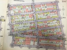 1929 PS 28 OCEAN HILL BED STUY BROWNVILLE SARATOGA SQUARE BROOKLYN NY ATLAS MAP