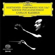 CARLOS KLEIBER/WP - LUDWIG VAN BEETHOVEN-SINFONIEN 5 & 7 (SACD)  8 TRACKS  NEW+