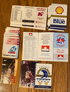 LOT OF 30  east coast basketball and soccer WINDJAMMMERS CLIPPERS CITADELS OTHER