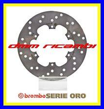 Disco freno anteriore posteriore BREMBO Oro PIAGGIO VESPA GTS 125 SUPER 13 2013