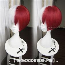 My Hero Academia Boku no Hiro Akademia Shoto Todoroki Shouto Cosplay Hair Wig