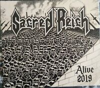 Sacred Reich - Alive 2019 exclusive CD incl. Studio Song + Music Mag + CD