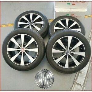 Set Nuevo Llantas de Aleación F010 Neumáticos 195 55 15 Fiat Idea Lancia Ypsilon