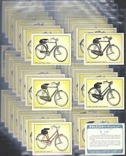 RALEIGH-FULL SET- RALEIGH THE ALL STEEL BICYCLE (L48 CARDS) - EXC