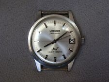 Vintage Longines Ultra-Chron Automatic SS Date Watch