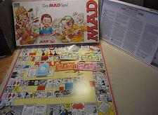 Vtg 80s Boardgame Brettspiel DAS MAD SPIEL von Parker 1982