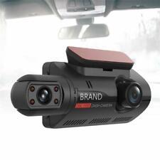 Car HD DVR Dash Camera Dash Cam Video Dual Lens Hidden Recorder USB Night Vision