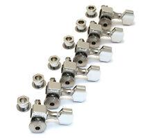 Sperzel Trim-Lok Locking 6 Inline Chrome Plated Guitar Tuners/Machine Heads