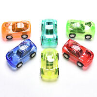 Pull Back Car Vehicle Toys Gift Baby Children Kids Transparent Mini Car Toy