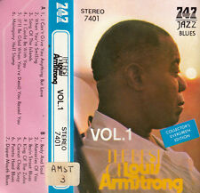 K 7 AUDIO (TAPE)  LOUIS ARMSTRONG  *I CAN'T GIVE YOU ANYTHING *  (MADE IN JAPAN)