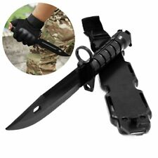 M9 Military Tactical Training Dagger Model Cosplay Rubber Knife War Movie Props