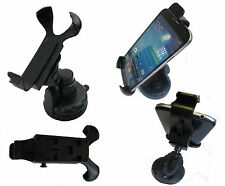 360 Rotating Windshield Mount Car Cradle Holder For Sat Navs Tom Toms PSP NDS UK