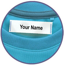 100 Nursing Home Labels for Clothing, Sew On Material