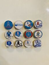 Houston Oilers Magnets - Set of 12 - FREE SHIPPING