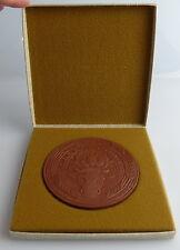 Meissen Medaille: LPG (T) Otto Buchwitz Hasslau im Etui, Orden2655