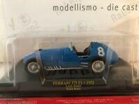 "Die Cast "" Ferrari 375 F1 - 1952 Louis Rosier Ecurie + Boîte 1 "" Échelle 1/43"