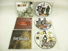 FRONT MISSION HISTORY Game Soft Only ref/5323 PS1 Playstation Japan Game p1