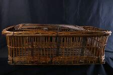 Grande malle en osier, rotin, années 1900 / cane trunk 1900's, rattan