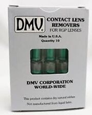 DMV Hard Gas Permeable RGP Classic Contact Lens Remover Hole & Instruction 10ct