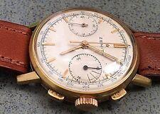 cronografo zenith d'oro 18 kt.750.