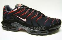 Nike Air Max Plus Tuned 1 Tn Mens Trainers Black Red Grey White 852630 002