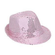 borsalino en tissu rose pale avec paillettes pale taille 58 Chapeaux mode fetes