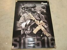 Sig Sauer Promo Patrol Rifle Poster Sig 516 Military/Police