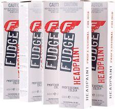 10 x Fudge Headpaint Hair Dye Professional Colour Permanent Highlights Shadows