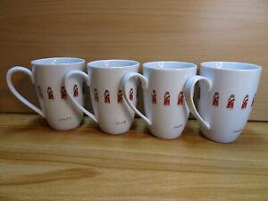 Lindt 4 Stück Kaffeebecher Weihnachten Tasse Sammleredition