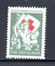 YUGOSLAVIA MNH 1954 SG782 OBLIGATORY TAX. RED CROSS