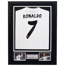 Cristiano Ronaldo Signed Real Madrid Shirt in Black Frame (2013-2014)
