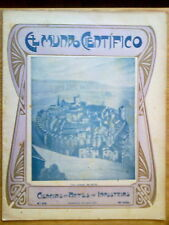 ANTIGUA REVISTA AÑO 1904 MUNDO CIENTIFICO,SORPRENDENTES NOTICIAS,PUBLICIDAD.225