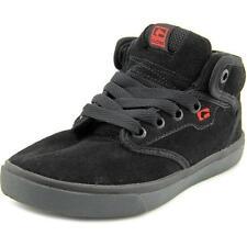 Scarpe nere in camoscio per bambini dai 2 ai 16 anni