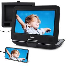 """Naviskauto 10.1"""" pulgadas portátil reproductor de DVD con entrada HDMI, 5000mAH Batería, Sopor.."""