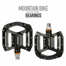 "Aluminum 9/16"" Pedals Cycling Mountain MTB Bike Bicycle 3 Bearing Platform Pedal"