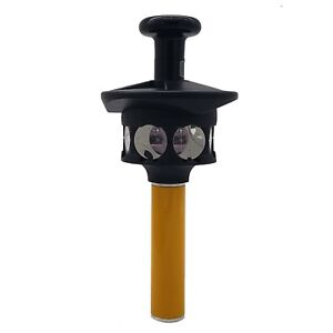 360 Degree Reflective Prism for Trimble Total Station Reflector , Height Adapter