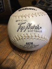 Wilson Top Notch Softball A9216 16 Inch