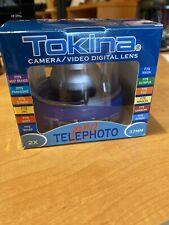 Tokina 2X Telephoto Pro Camera/Video Digital Lens 37Mm