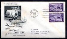 USA - 1953 Trucking industry -  Mi. 645 FDC