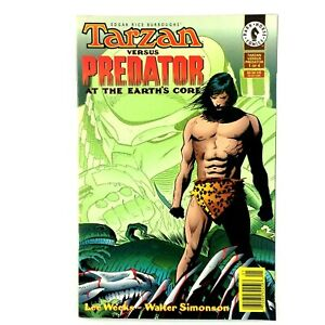 Tarzan vs Predator At The Earth's Core #1 1996 VF Lee Weeks Walter Simonson