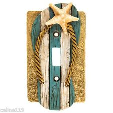 Flip Flop Light Switch Cover - Nautical Decor - Beach Cottage Decor Resin New!