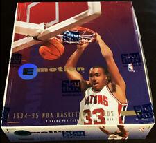 1994-95 SKYBOX EMOTION BASKETBALL FACTORY SEALED BOX *N-TENSE JORDAN, HILL RC*