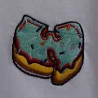 """W"" x Green Hip Hop Donut Long Sleeve Tee T-shirt by Actual Fact"