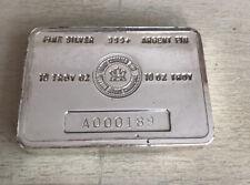 10oz Royal Canadian Mint silver Bar RCM rare Vintage