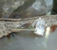 band ring vorsteckring silber 835 mit bergkristall dänemark größenverstellbar