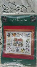 La Hierba Craft Coll CROSS STITCH Garden 1997